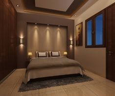 Modern style bedroom by homify Modern Plywood Modern Luxury Bedroom, Luxury Bedroom Design, Master Bedroom Interior, Modern Master Bedroom, Room Design Bedroom, Bedroom Furniture Design, Luxurious Bedrooms, Home Interior, Bedroom Interiors