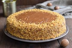 Gâteau aux noix - The Best Protein Recipes My Recipes, Sweet Recipes, Dessert Recipes, Cooking Recipes, Oreo Dessert, Butter Pie, Peanut Butter, Gateau Cake, Oreo Brownies