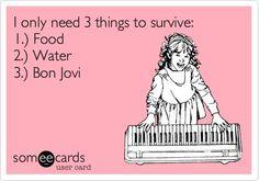 Bon Jovi eCard