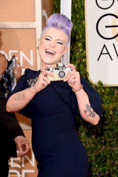 Pin for Later: Seht alle Stars auf dem roten Teppich bei den Golden Globes! Kelly Osbourne