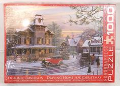 Eurographics Puzzle Driving Home for Christmas 1000 Piece NEW Dominic Davidson #Eurographics