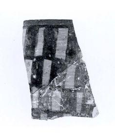 Sherd  Period:Chalcolithic Date:5th–4th millennium B.C. Geography:Iran, Nishapur Culture:Iran Medium:Ceramic, paint Dimensions:2.68 x 0.2 in. (6.81 x 0.51 cm) Classification:Ceramics-Vessels