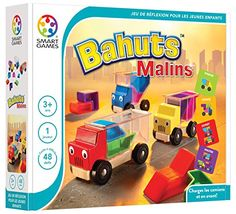 Buy Smart Games Trucky 3 from BrightMinds. Leading UK Online Educational Kids Gifts and Childrens Toy Shop for Smart Games Trucky 3 Preschool Puzzles, 3d Puzzles, Online Puzzle Games, Brain Teaser Puzzles, Wooden Truck, Logic Games, Educational Games, Brain Teasers, Kids Learning