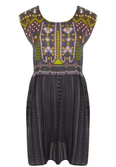 Ellis & Dewey - Aztec Print Dress