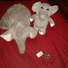 Beautiful Roll Tide's Elephant bracelet Roll Tide Roll! Jewelry Bracelets