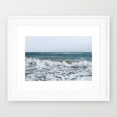 Buy Scream  Framed Art Print by xiari_photo. Worldwide shipping available at Society6.com. Just one of millions of high quality products available. sea, beach, ocean, waves, foam, shore, sea shore, summer, season, hot, storm, scream, loud, nature, natural, nature photography, photo, pic, photography, photograph, art print, wall art, photographer, sky, clear, blue, white, horizon, landscape, digital, nikon, dslr , xiari, art print, framed art, frame