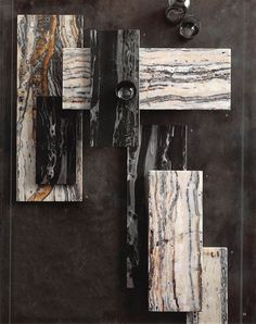 Roost Portoro Black Marble Serving Boards