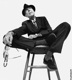 """Leonard.... what can I say I LOVE THIS MAN. I have seen him twice and have been to a few """"Leonard Cohen Events"""". He has the most amazing fans."""