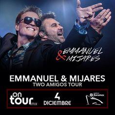 #Emmanuel y #Mijares en Monterrey #ONTOURmx