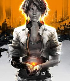 Remember Me. Female protagonist Nilin. New Capcom IP. Hope this game does well. Looks great.