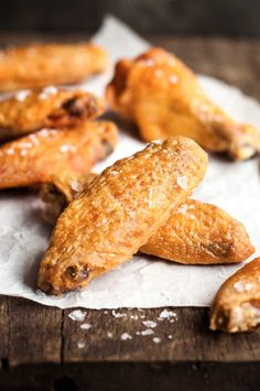 Truly Crispy Oven Baked Wings   These come out so crispy, it's hard to believe they aren't fried. So easy - a Cook's Illustrated technique.