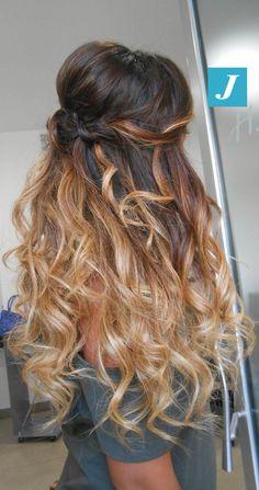 Stile Degradé Joelle #cdj #degradejoelle #tagliopuntearia #degradé #igers #musthave #hair #hairstyle #haircolour #longhair #ootd #hairfashion #madeinitaly #wellastudionyc