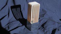 Steal wood gill box lamp