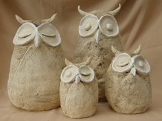 Sleeping owls Pinned by www.myowlbarn.com