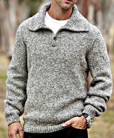 Hand- Knit Men& Collared Wool Pullover Sweater- Custom-Made to Order Hand- Knit Men& Collared Wool Pullover Sweater- Custom-Made to Order Pullover Sweaters, Men Sweater, Mens Sweater Outfits, Mens Pullover, Hipster Sweater, Mens Fashion Sweaters, Fashion Vest, Punk Fashion, Lolita Fashion