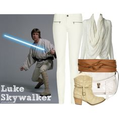 """Luke Skywalker"" by isaelfo on Polyvore"