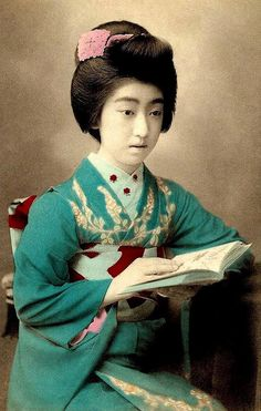 Teruha- the lovely and troubled geisha