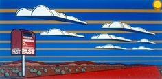 Return to Sender by Adam Hill at the Australian Aboriginal Art Directory Gallery. Adam Hills, Aboriginal Artists, Urban Art, Past, City Art, Past Tense, Street Art