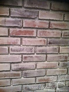 How to Whitewash a Brick Wall | WivesUnscripted