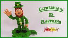 Como Hacer a Leprechaun de Plastilina/Porcelana Fria/ How to make Leprec...