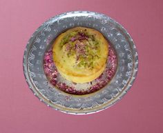 #Banana Nut Chocolate Chip Muffins Persianized Recipe w/ dried rose petals via FigandQuince.com // #PersianFood