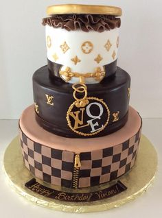 Louis Vuitton | LV | Gallery | Sugar Divas Cakery | Orlando | Cupcakes | Custom Cakes  Www.sugardivascakery.com