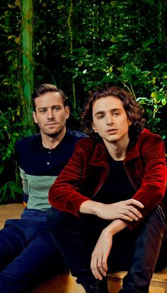 Armie and Timothee