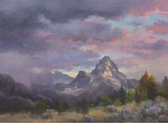 Check out these oil painting techniques from Johannes Vloothuis to create this stunning landscape!