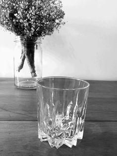 Tumbler for water and liquor