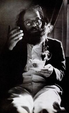 Allen Ginsberg, Kansas, 1966. (Source: firsttimeuser)