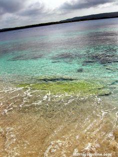 Agua cristalina en Morrocoy
