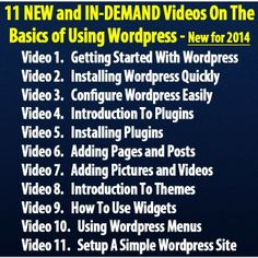 What You Need To Know About Using WordPress - Website Hosting Cost Archive Website, Get Started, Internet Marketing, Picture Video, Online Business, How To Make Money, Wordpress, Ads, Teaching