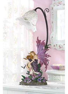 Orchid Fairy Table Lamp $46.95