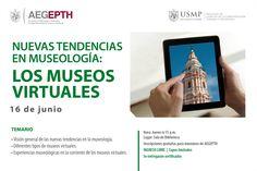 #AEGEPTH | Aún tienes la oportunidad de registrarte en el taller sobre museos virtuales, una nueva tendencia en museología.