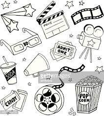 """Résultat de recherche d'images pour """"dessin ticket de cinéma"""""""