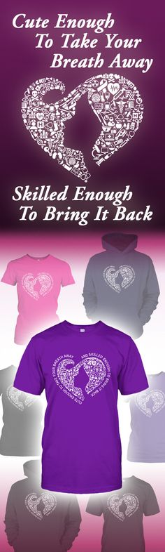 Check out this cool new tees and hoodies designed for scrubs wearing, patient caring, life saving, heart blessing nurses that we love so much. Wear this with pride and spread our love!