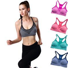 Damen sports bra BH mesh yoga breathable west Jogging Fitness Yoga Training Slim