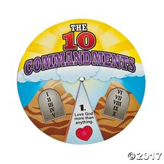 Our Ten Commandments Learning Wheels are great tools for teaching your Sunday School or vacation Bible school classes. Educational and easy-to-understand ...
