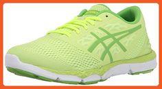 ASICS Women's 33 DFA 2 Running Shoe, Sharp Green/Jasmin Green/Flash Yellow, 9 M US - Athletic shoes for women (*Amazon Partner-Link)