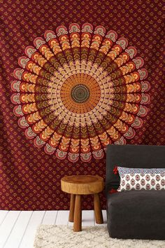 Magical Thinking Center Medallion Tapestry!!!!!
