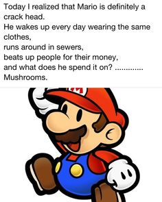 Mario-the crack head
