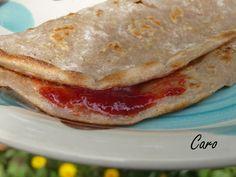 Caro Pimiento: Crepes de trigo sarraceno con manzana