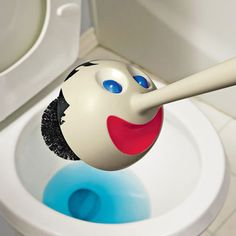 8 best cool toilet and bathroom accessories images toilet brush rh pinterest com