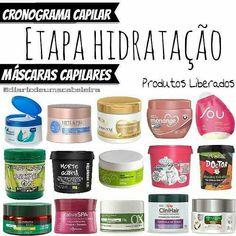 Post exclusivo com indicações de máscaras hidratantes para o Cronograma Capilar, variantes preços, m - diariodeumacabeleira