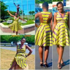 Love theb b African Wear, African Women, African Fashion, African Style, African Print Dress Designs, African Prints, Short Dresses, Summer Dresses, Kitenge