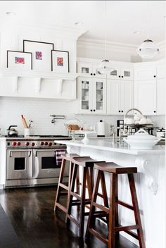 White Kitchen Cabinet Paint Color. Sherwin Williams Alabaster SW7008. Sherwin  Williams Alabaster SW7008 #