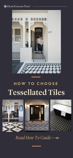 Tessellated tiles are the perfect finishing touch for a heritage home – and they can look incredible in contemporary homes too. Here's how to choose with confidence.