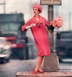 Carmen Dell Orefice wearing La Vigna 1963