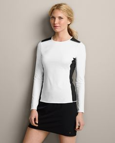 Dk. Azure Long-Sleeve 4-Way-Stretch Shirt Sizes S-XXL Blue or White available