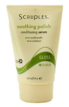 Scruples Soothing Polish - conditioning serum.. my favorite